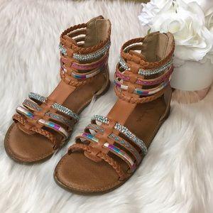 Nina Girls Gladiator Sandals